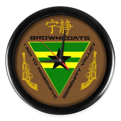 Настенные часы Firefly browncoats