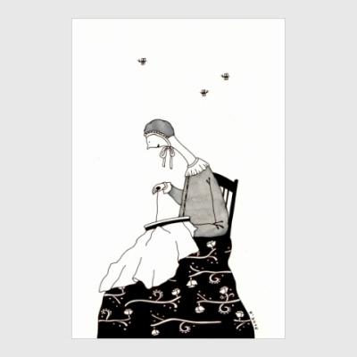 Постер Sewing