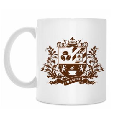 Кружка I love coffee - любителям кофе
