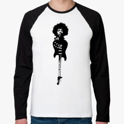 Футболка реглан с длинным рукавом Hendrix