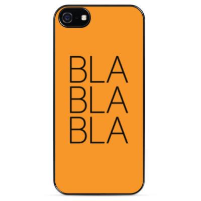 Чехол для iPhone BLA BLA BLA