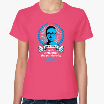 Женская футболка Гослинг в лучах
