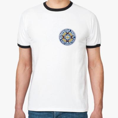 """Футболка Ringer-T  """"Police Academy"""""""