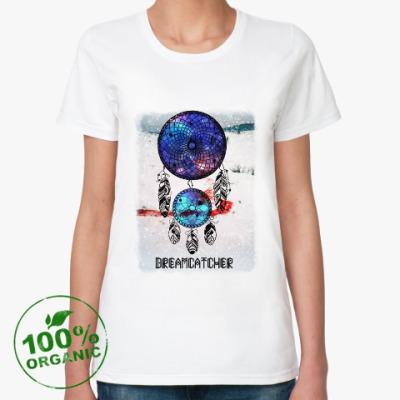 Женская футболка из органик-хлопка Ловец Снов