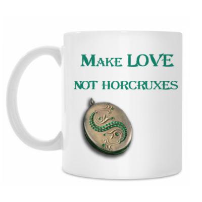 Кружка Make love not horcruxes