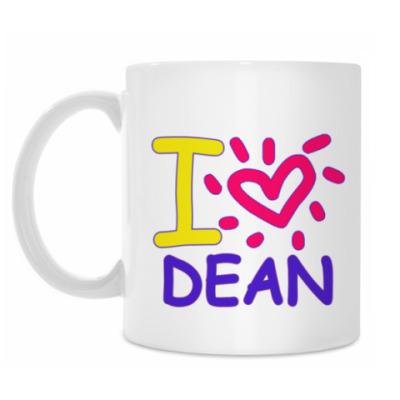 Кружка Supernatural - I love Dean