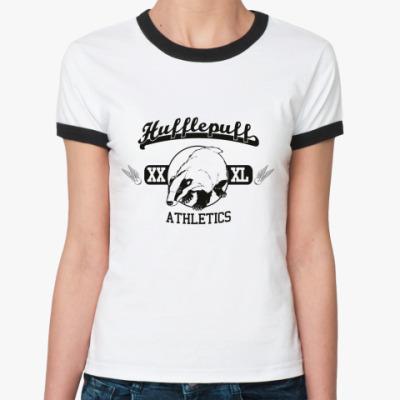 Женская футболка Ringer-T Hufflepuff  Ж ()