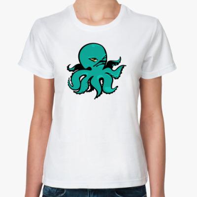 Классическая футболка octopus