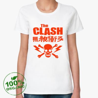 Женская футболка из органик-хлопка The Clash