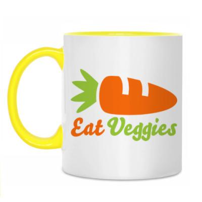 Кружка Eat Veggies