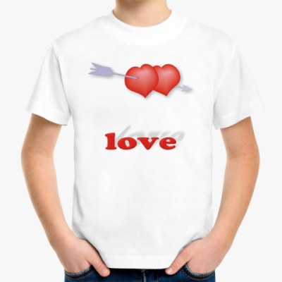 Детская футболка Дуплет