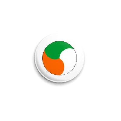 """Значок 25мм  """"Irish"""""""