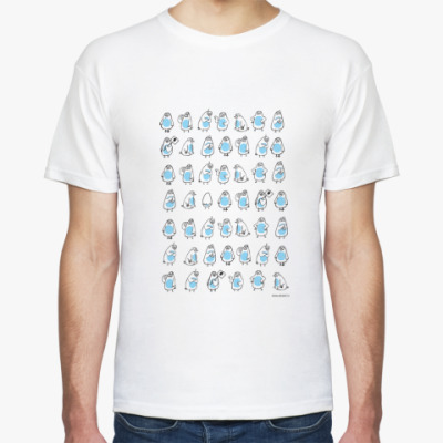 Футболка Пингвины