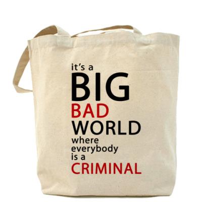 Сумка Bad World Холщовая сумка