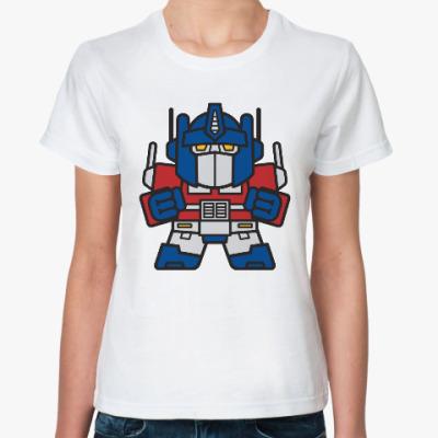 Классическая футболка Оптимус Прайм