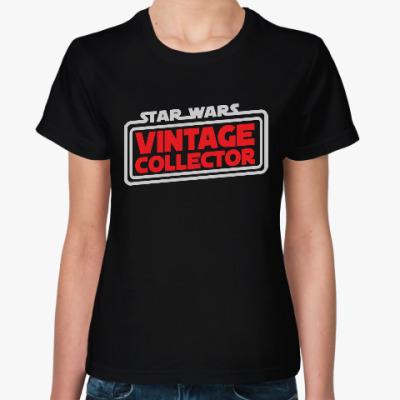 Женская футболка Винтажный Коллекционер