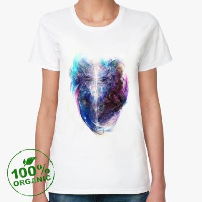 Женская футболка из органик-хлопка 'Портал'