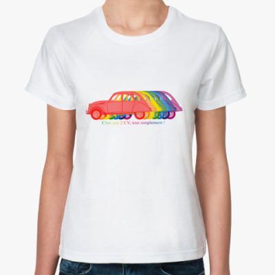 Классическая футболка  2CV