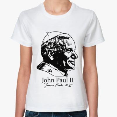 Классическая футболка John Paul II