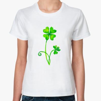 Классическая футболка Шемрок