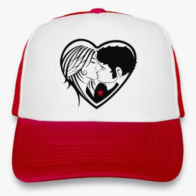 Кепка-тракер Kiss Forever