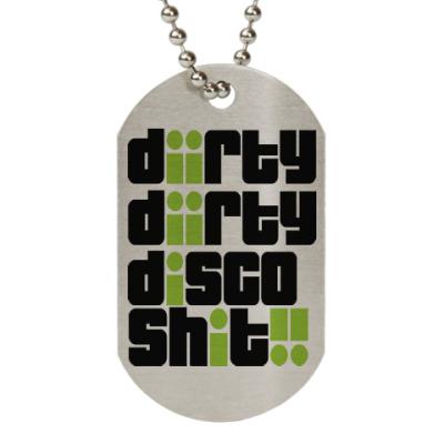 Жетон dog-tag Грязное диско