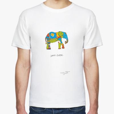 Футболка . Это слон