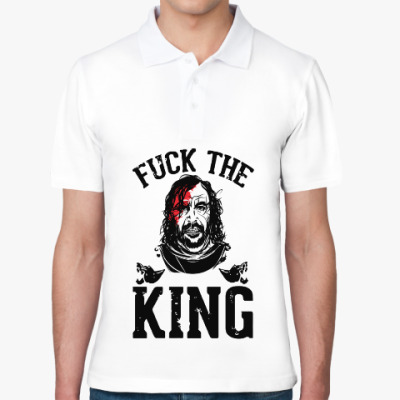 Рубашка поло Fuck  the king Игра престолов