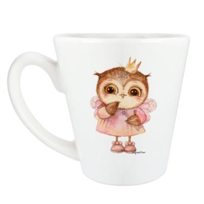 Чашка Латте Принцесса