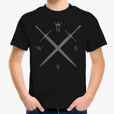 Детская футболка Король Севера