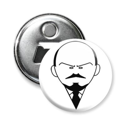 Магнит-открывашка Ленин