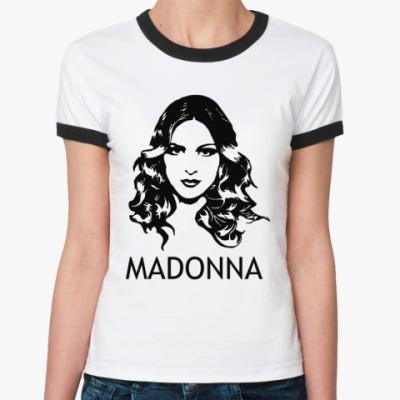 Женская футболка Ringer-T Madonna