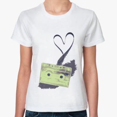 Классическая футболка Tape