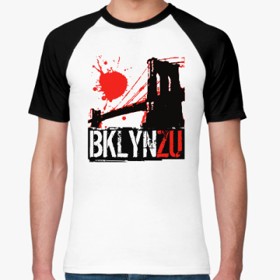 Футболка реглан Brooklyn Zu