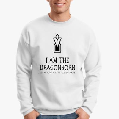 Свитшот Dragonborn Skyrim