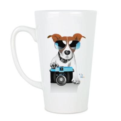 Чашка Латте рассел-фотограф