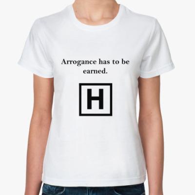 Классическая футболка Arrogance