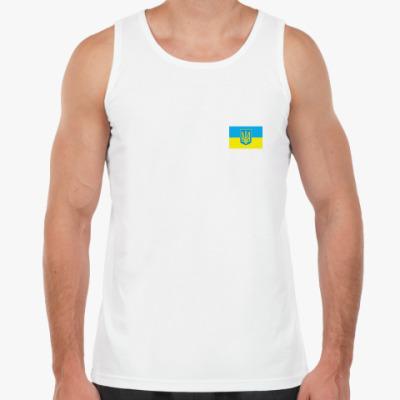Майка Украина. Герб и Флаг