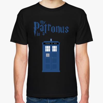 Футболка My Patronus is a TARDIS