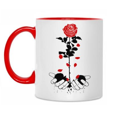 Кружка Heart rose