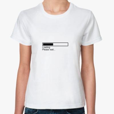 Классическая футболка Loading