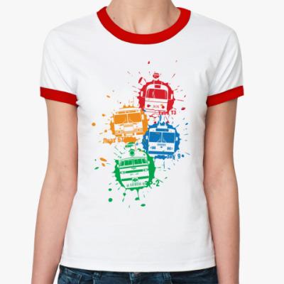 Женская футболка Ringer-T Светофор