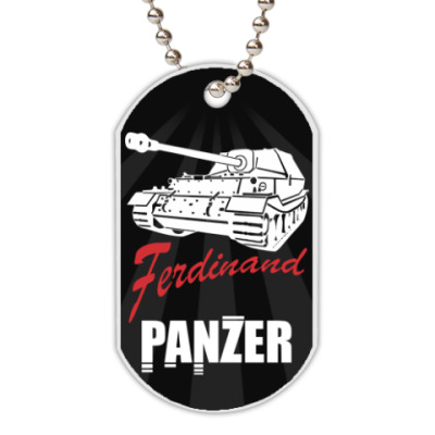 Жетон dog-tag Ferdinand