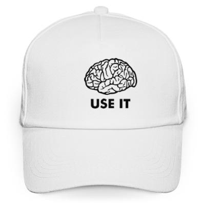 Кепка бейсболка Мозг