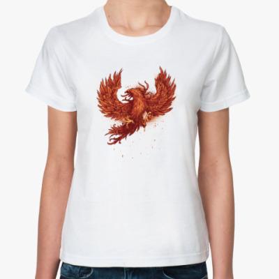 Классическая футболка Прекрасный феникс