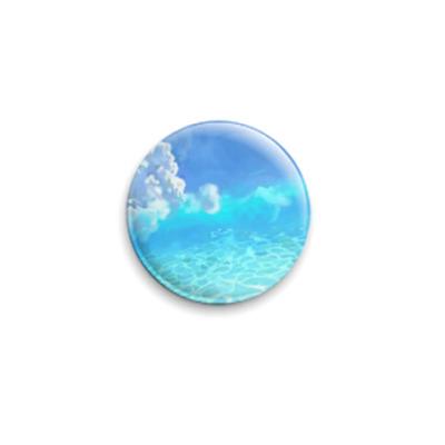 Значок 25мм  Мечты о море