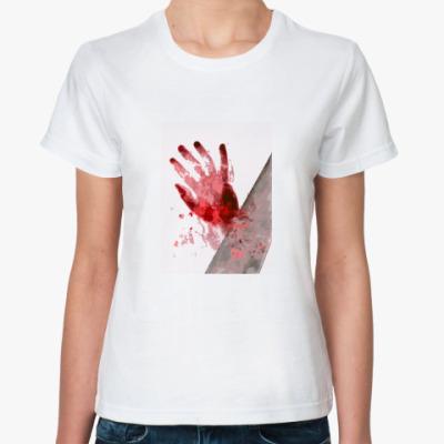Классическая футболка Пила и роза