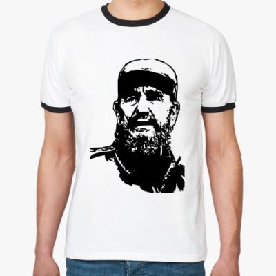Футболка Ringer-T Fidel Castro