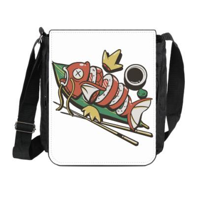 Сумка на плечо (мини-планшет) Суши