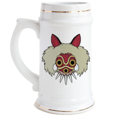Пивная кружка Принцесса Мононоке Мияздаки
